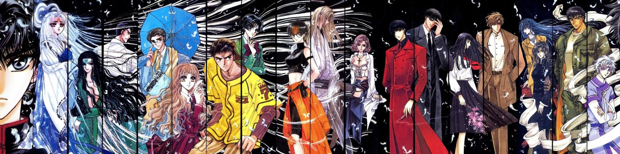 X anime girls guys Series Seiichirou Aoki Characters Kyogo Monou wallpaper
