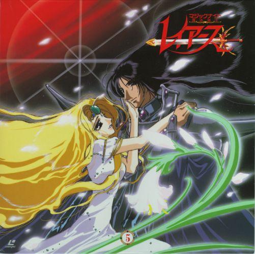 anime couple love blonde girl dress Magic Knight Rayearth Series OVA Zagato Character Emeraude wallpaper