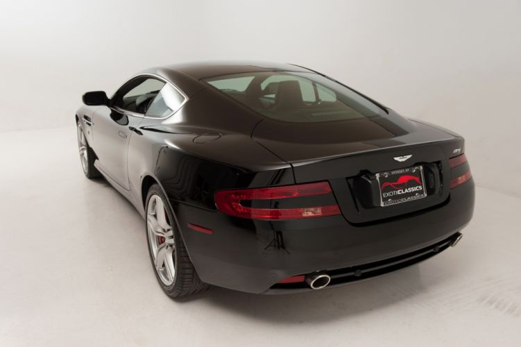 2007 Aston Martin DB9 Coupe cars black wallpaper