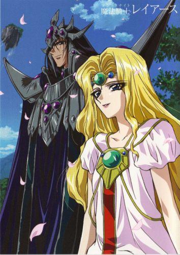 anime girl beautiful dress Magic Knight Rayearth Series Characters couple male blonde wallpaper