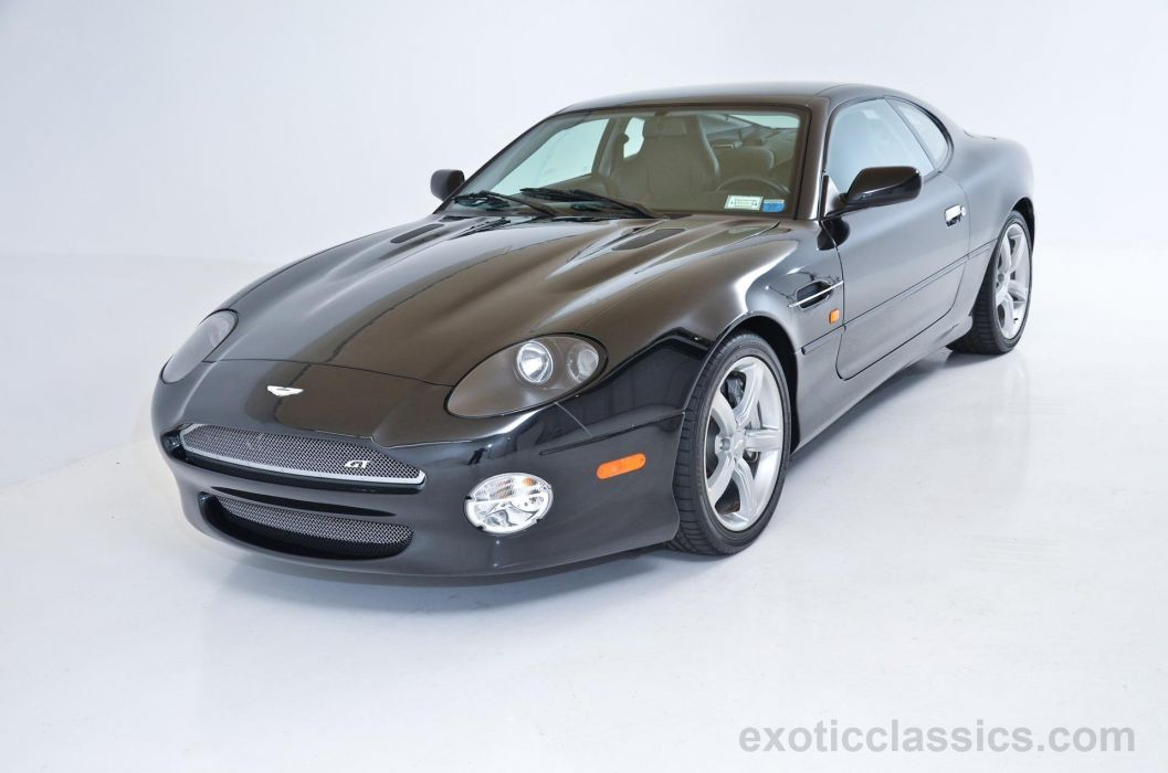 2003 Aston Martin DB7 Coupe GT black wallpaper