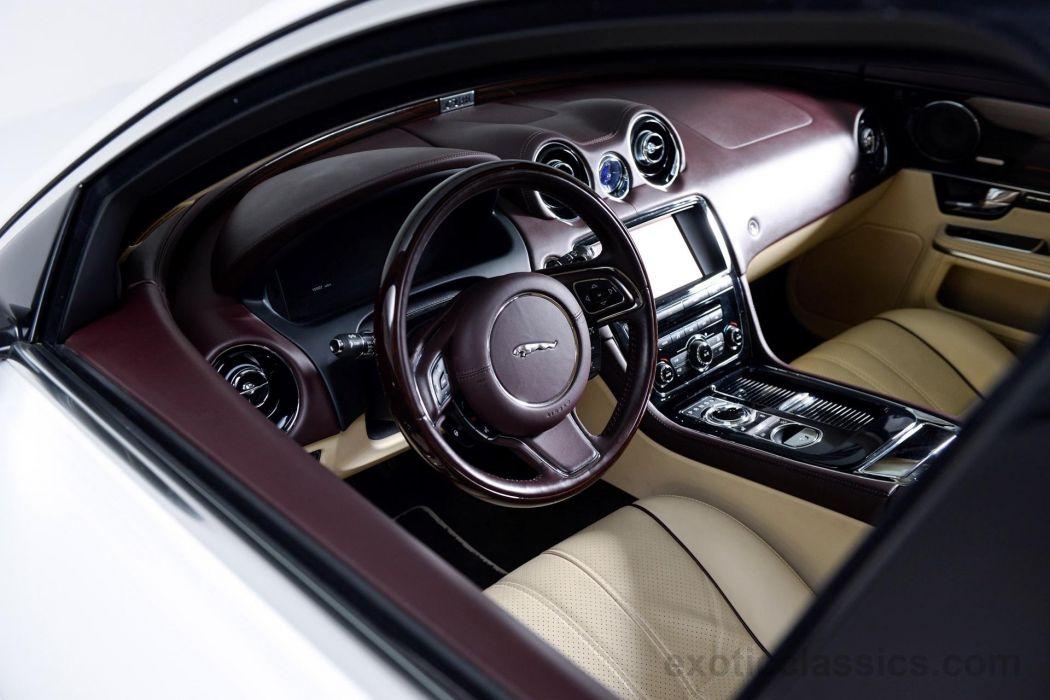 2011 Jaguar XJL Supersport Sedan cars white wallpaper