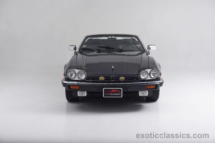 1990 Jaguar XJS Convertible V12 cars black wallpaper