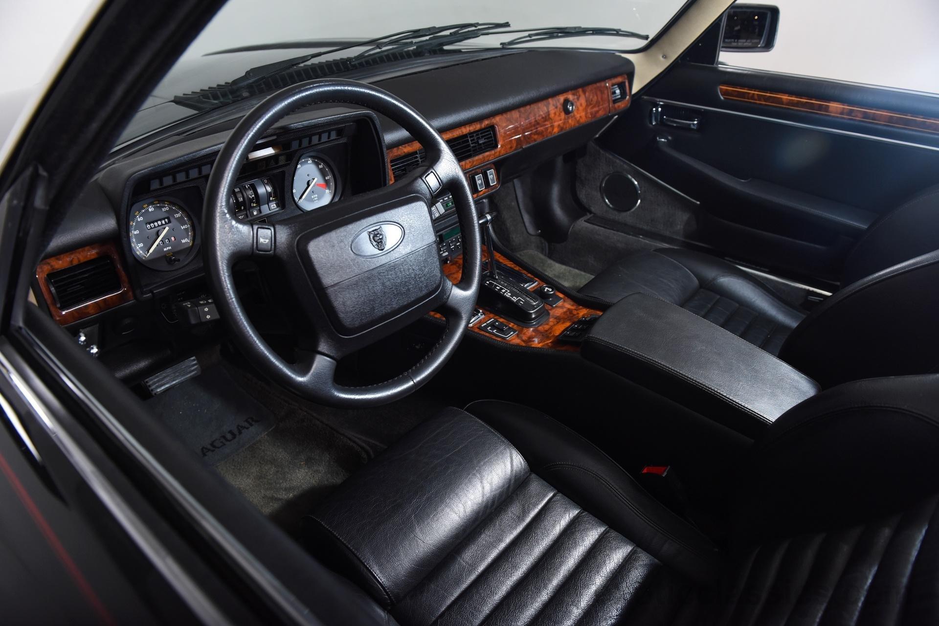 1990 Jaguar Xjs Convertible V12 Cars Black Wallpaper 1920x1280 1996 Xj6 Vanden Plas 717925 Wallpaperup
