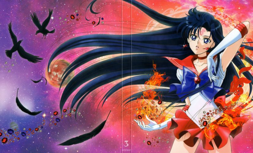 Bishoujo Senshi Sailor Moon Series Sailor Mars Character anime girl beautiful wallpaper