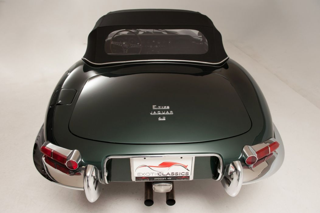 1967 E-Type xke Roadster jaguar cars classic Green Metallic wallpaper
