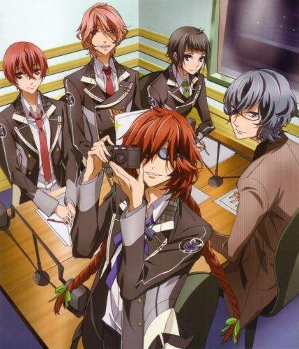 Starry Sky Series anime group characters friend males wallpaper