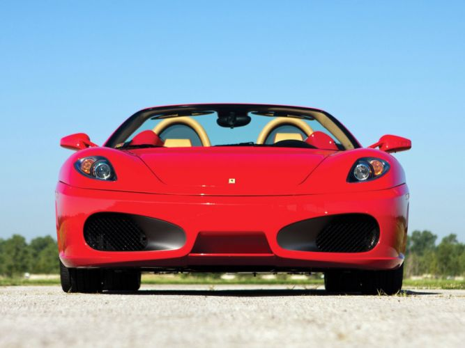 Ferrari F430 Spider US-spec 2005 cars wallpaper