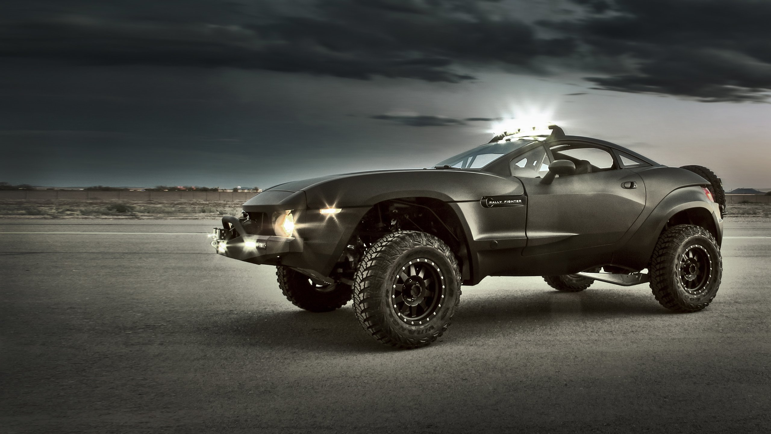 Local Motors Rally Fighter 2010 Cars Wallpaper 2560x1440