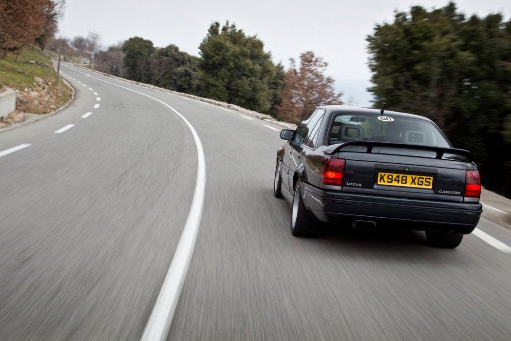 Vauxhall Lotus Carlton sedan cars 1990 wallpaper