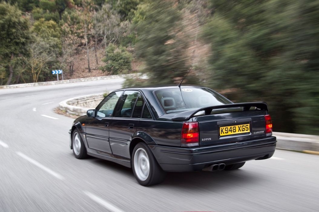 Vauxhall Lotus Carlton sedan cars 1990 wallpaper