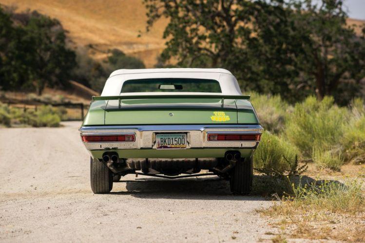 1970 Pontiac GTO The Judge Ram Air III Convertible classic cars green wallpaper