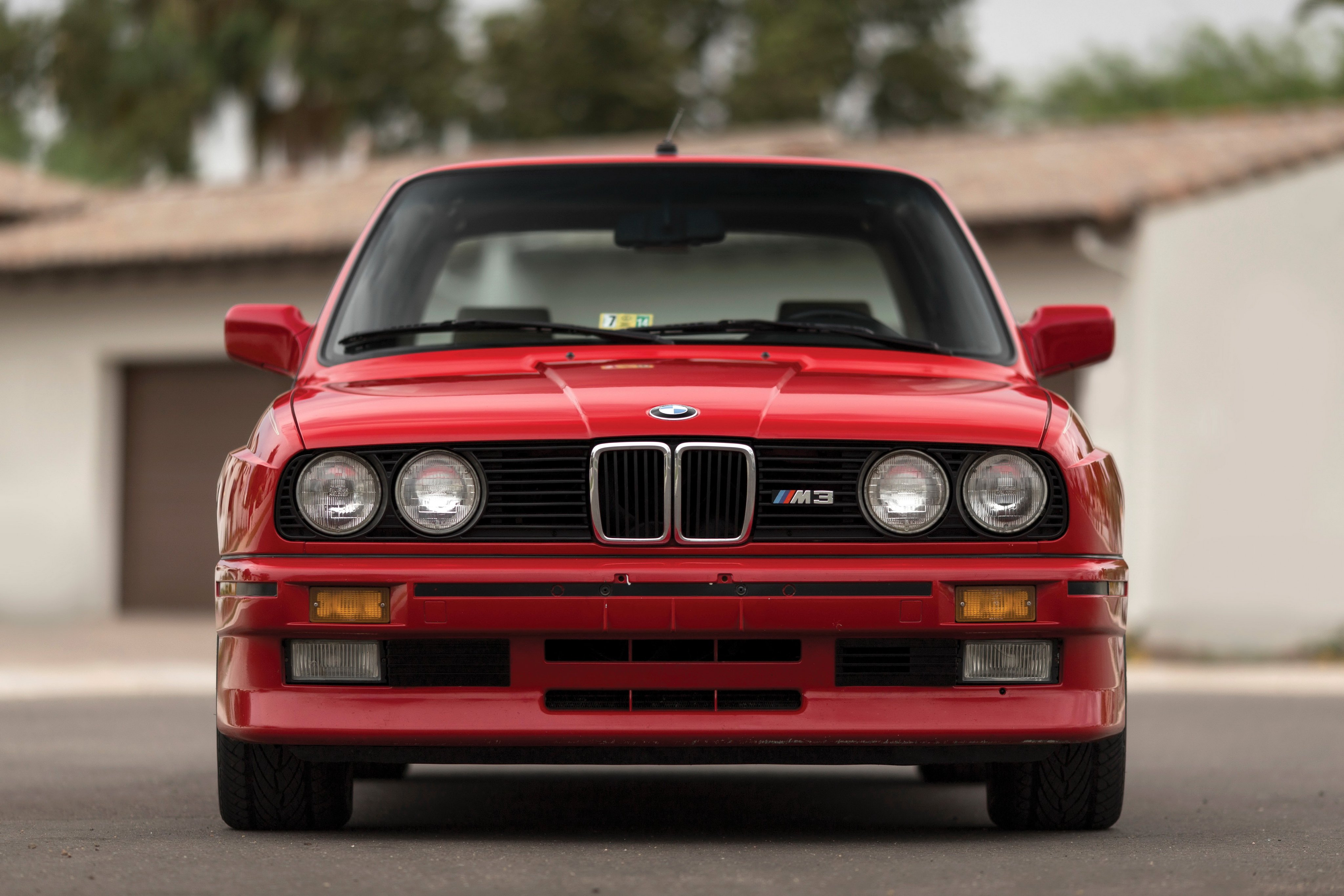 BMW M3 Coupe US-spec E30 cars coupe red 1987 wallpaper ...