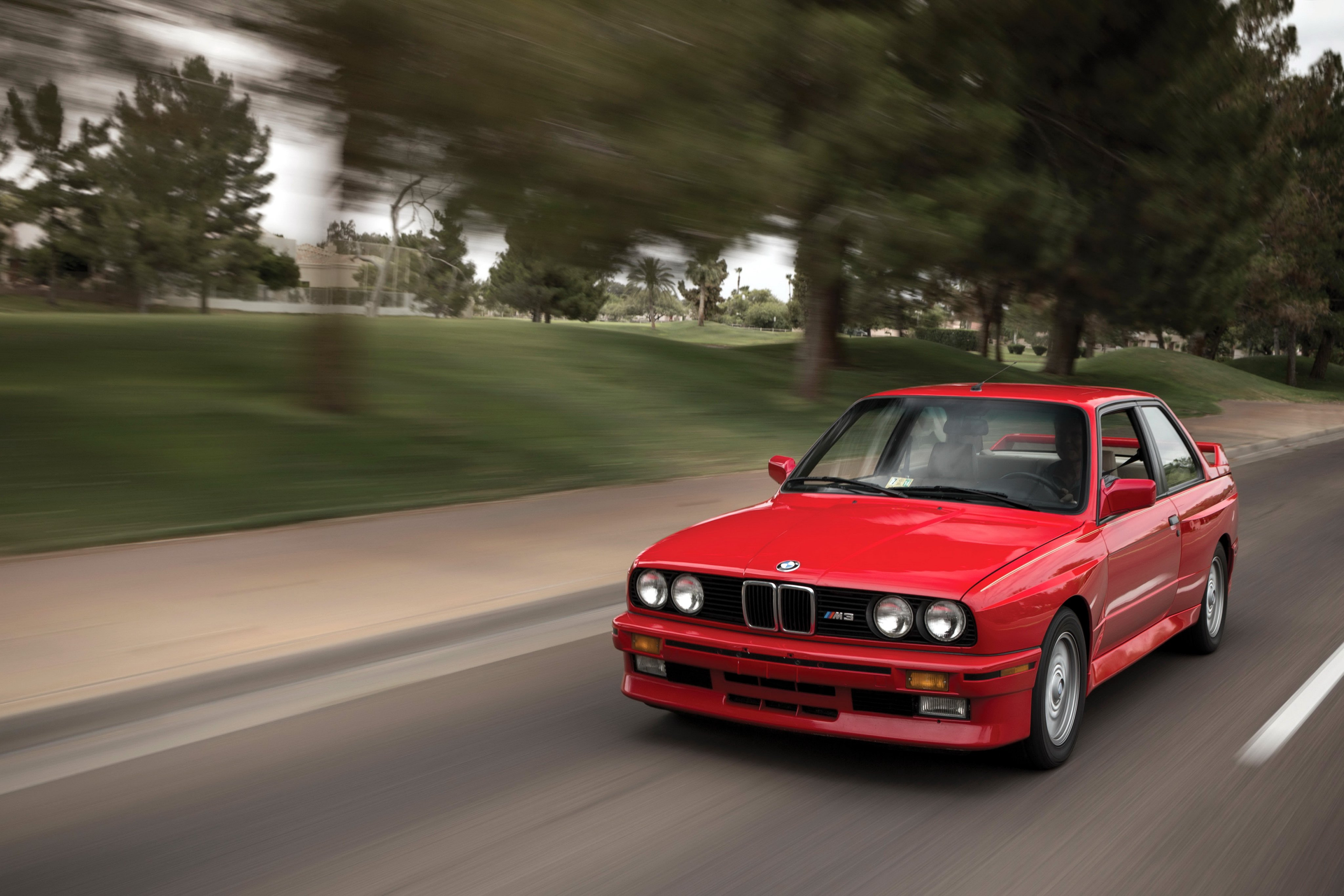 Bmw M3 Coupe Us Spec E30 Cars Coupe Red 1987 Wallpaper
