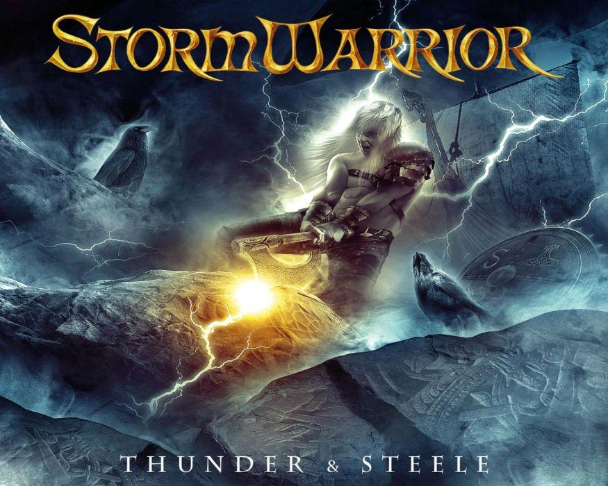 STORMWARRIOR speed power metal heavy fantasy dark warrior wallpaper