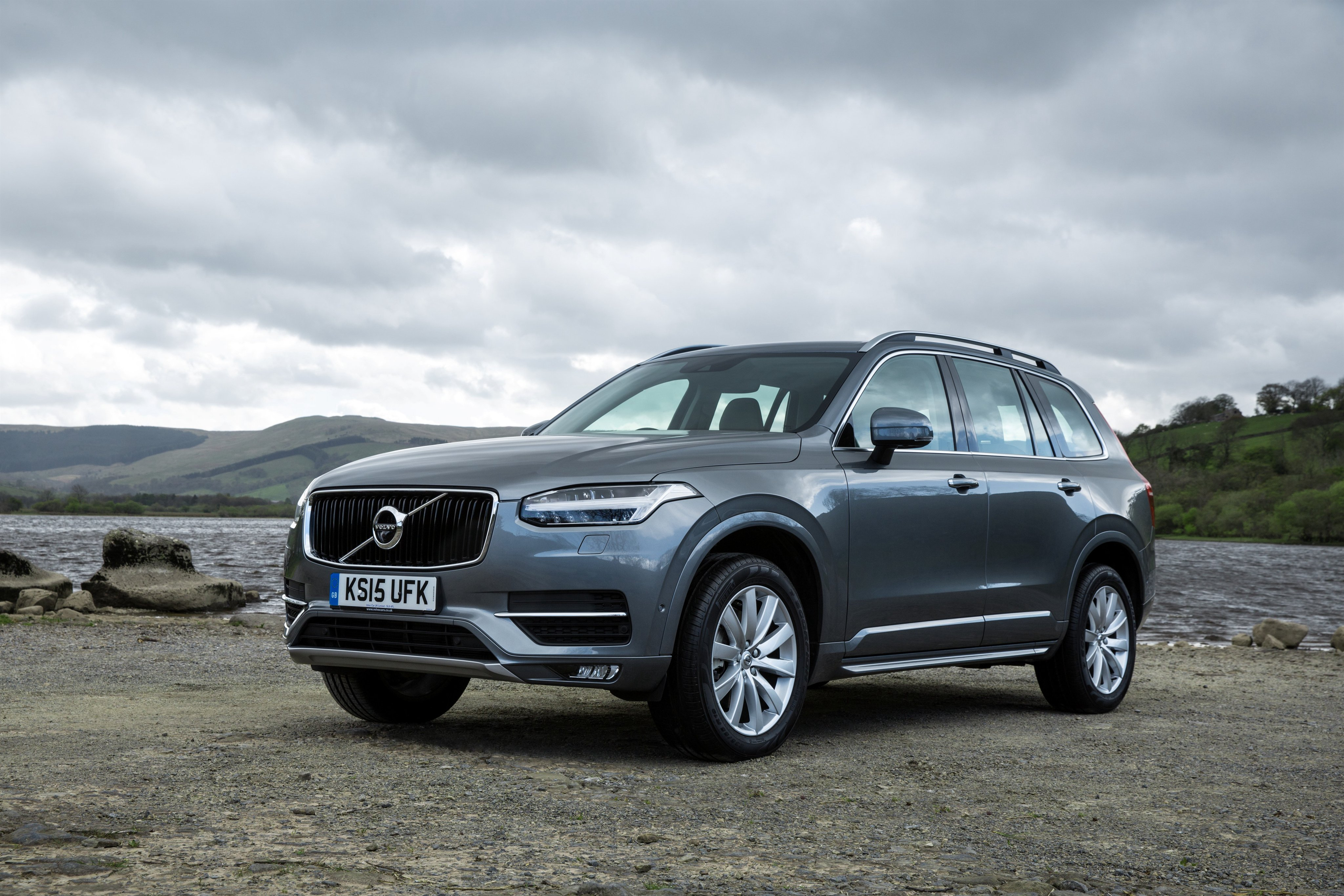volvo xc90 d5 momentum uk spec cars suv 2015 wallpaper. Black Bedroom Furniture Sets. Home Design Ideas