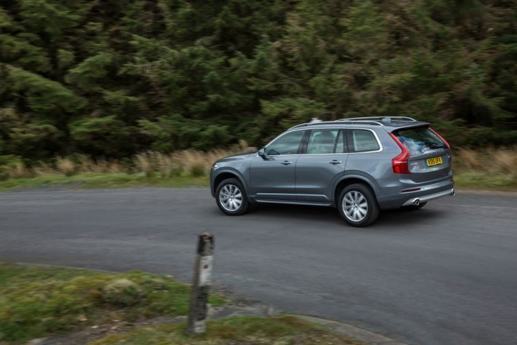 Volvo XC90 D5 Momentum UK-spec cars suv 2015 wallpaper