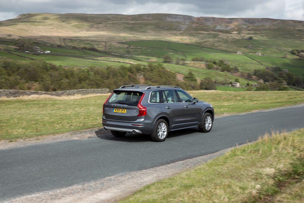 Volvo XC90 D5 Momentum UK-spec cars suv 2015 wallpaper