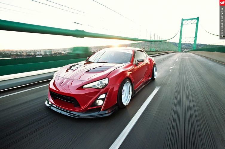 Scion FR-S coupe cars modified bodykit wallpaper