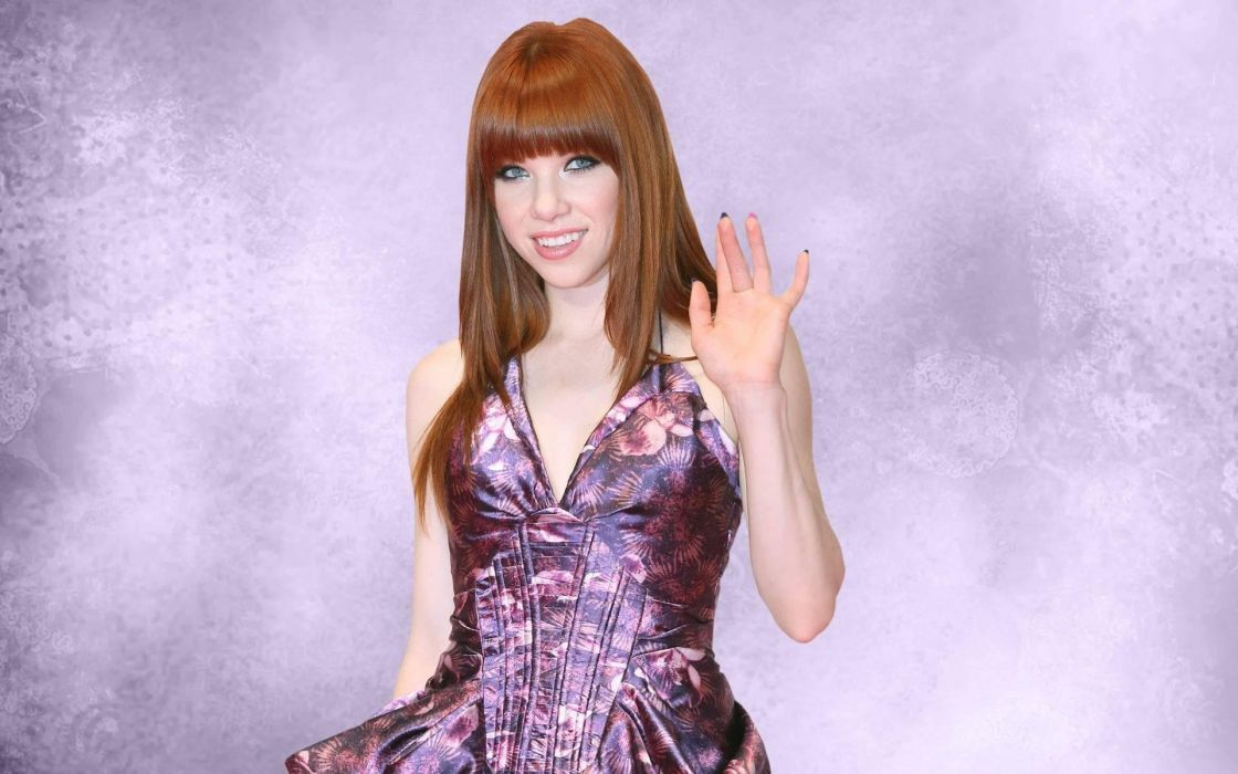 CARLY RAE JEPSEN singer pop rock girl women women female 1carly wallpaper