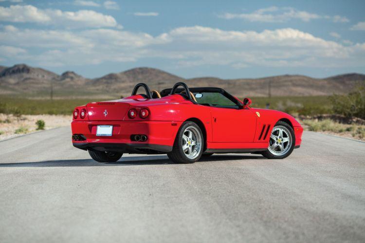 Ferrari 550 Barchetta Pininfarina US-spec 2000 red wallpaper