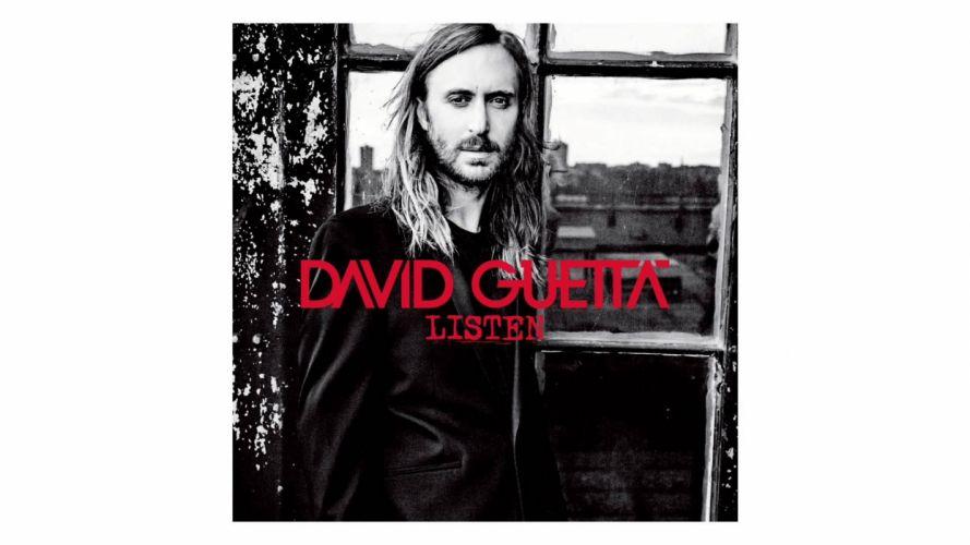 DAVID GUETTA house edm electro electronic disc jockey electropop pop 1dguetta techno poster wallpaper