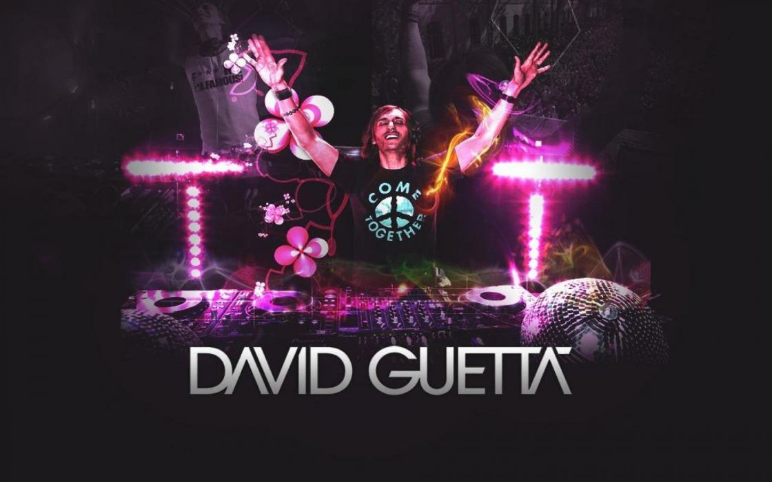 DAVID GUETTA house edm electro electronic disc jockey electropop pop 1dguetta techno poster wallpaper