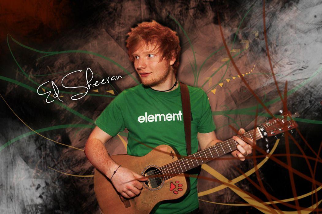 ED SHEERAN pop r-b folk hip hop acoustic singer indie 1sheeran poster text quote typography guitar wallpaper
