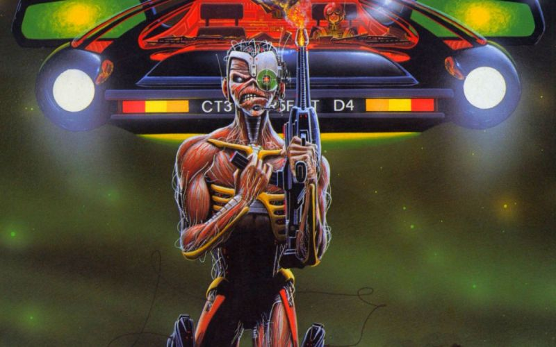 IRON MAIDEN power metal heavy artwork dark evil sci-fi futuristic eddie skull wallpaper