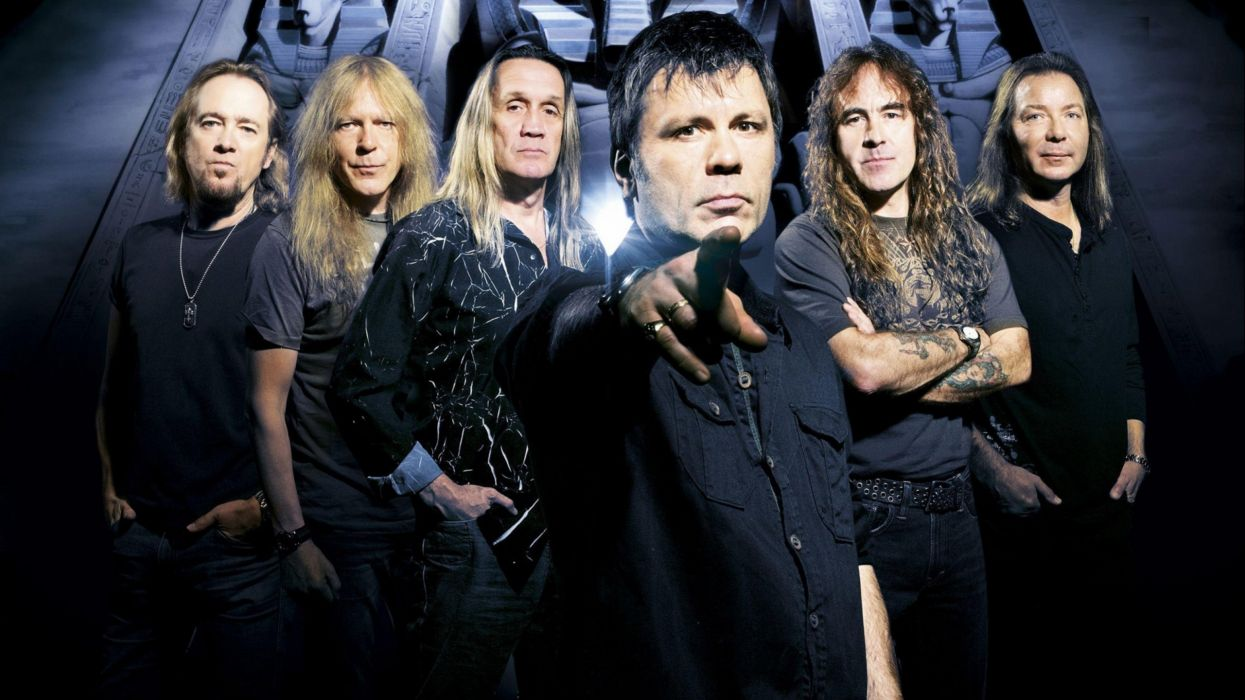 IRON MAIDEN power metal heavy artwork dark evil wallpaper
