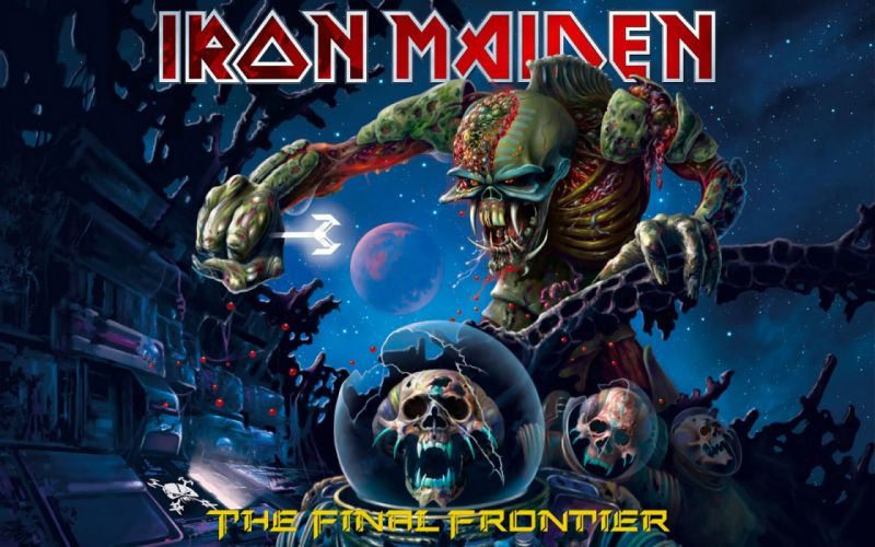 IRON MAIDEN power metal heavy artwork dark evil eddie skull poster wallpaper