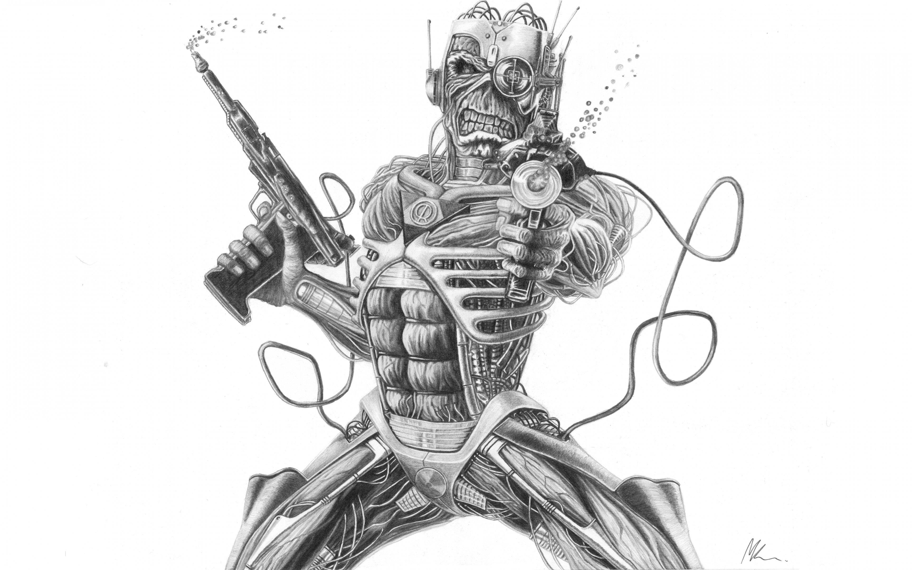 Iron Maiden Eddie | iron maiden eddy colouring pages | Iron maiden ... | 2400x3840
