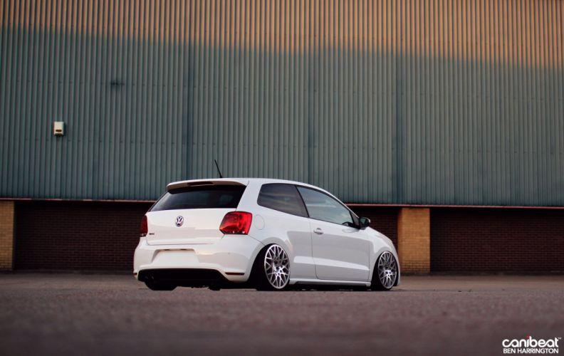 VW Polo GTI tuning custom volkswagon wallpaper