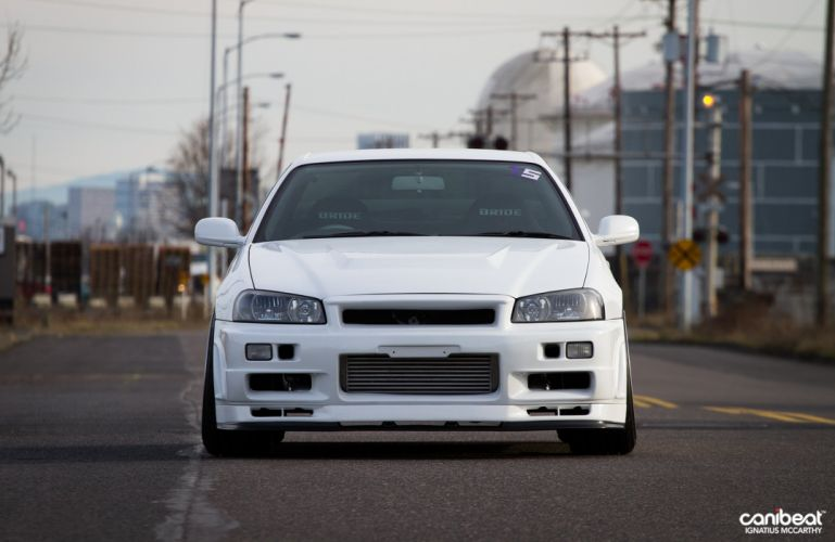 2000 Nissan Skyline GT-T tuning custom g-t wallpaper