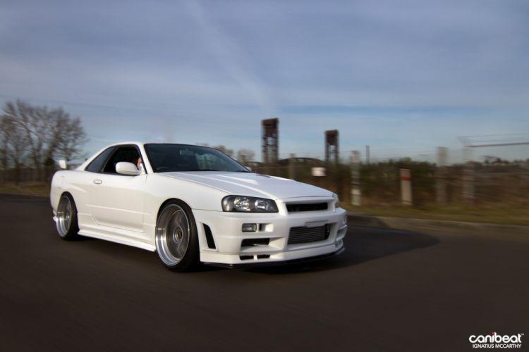 2000 Nissan Skyline GT-T tuning custom g-t wallpaper