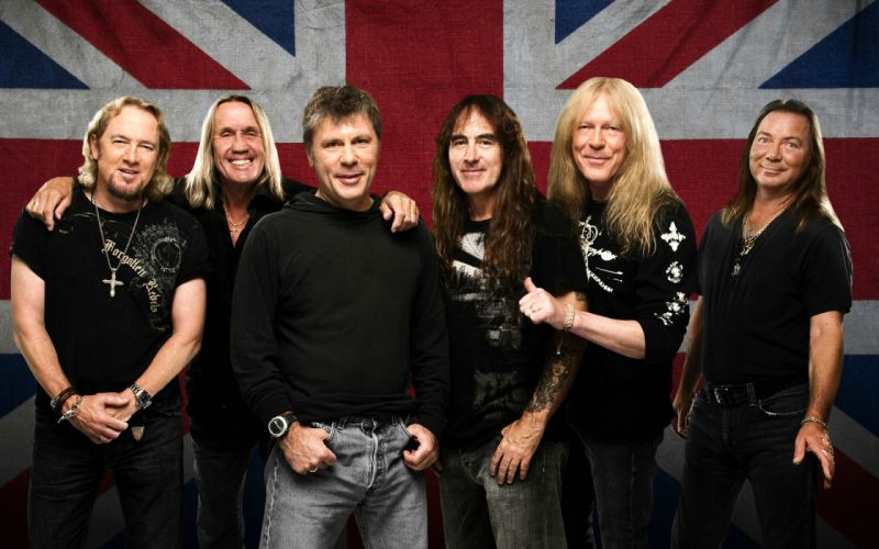 IRON MAIDEN heavy metal power wallpaper