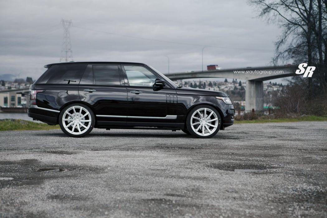 Range Rover black pur wheels tuning wallpaper