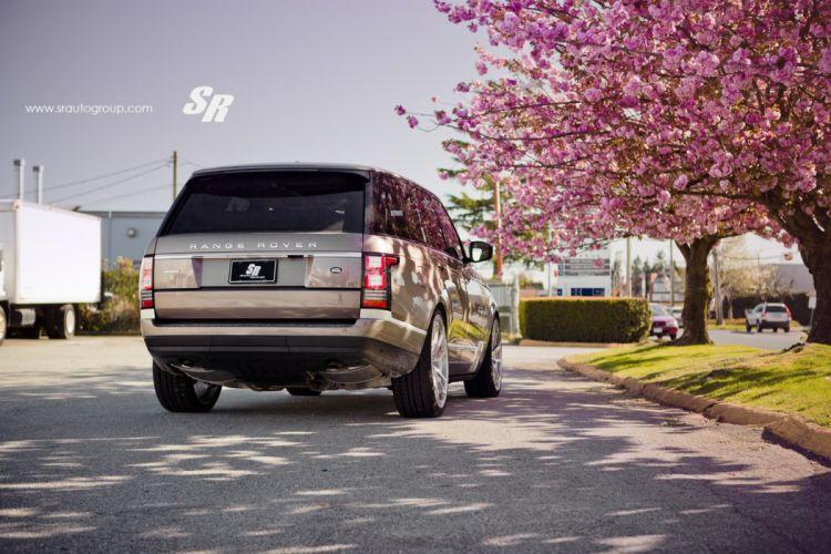 Range Rover vogue pur wheels tuning wallpaper