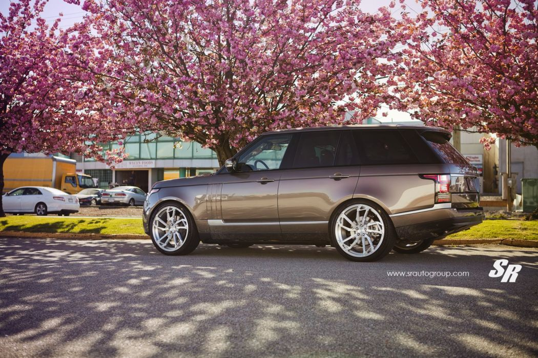 Range Rover vogue pur wheels tuning wallpaper