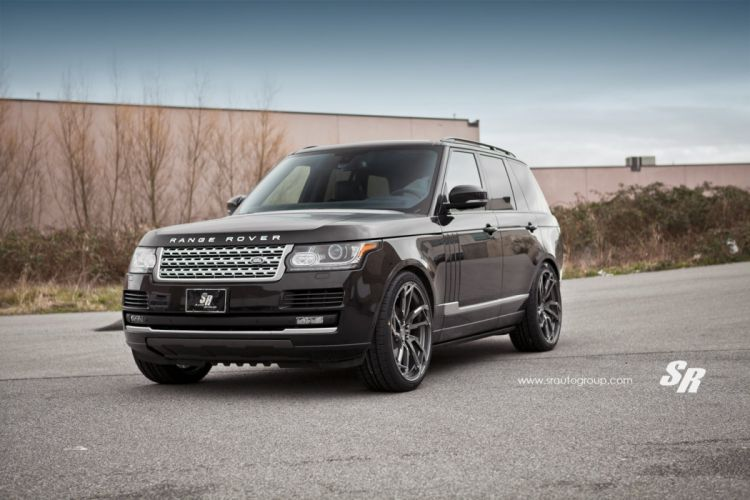 Range Rover vogue black pur wheels tuning cars wallpaper
