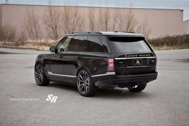 Range Rover vogue black pur wheels tuning cars wallpaper