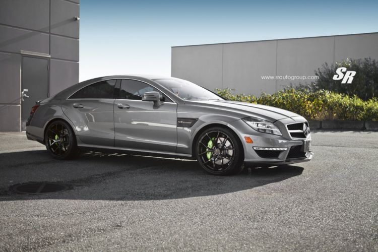 CLS63 AMG mercedes pur wheels tuning cars wallpaper