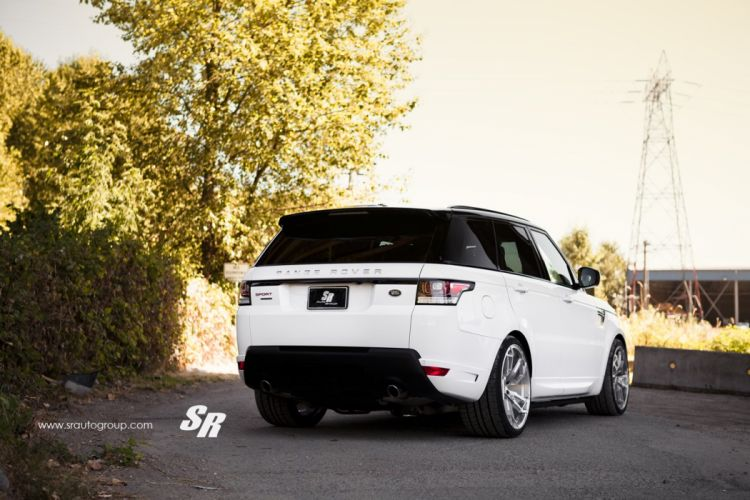 Range Rover sport vogue white pur wheels tuning cars wallpaper