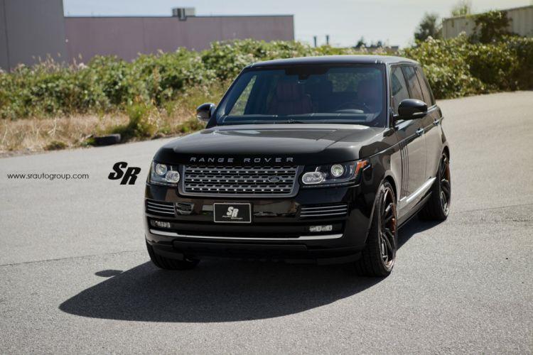Range Rover sport black pur wheels tuning cars wallpaper