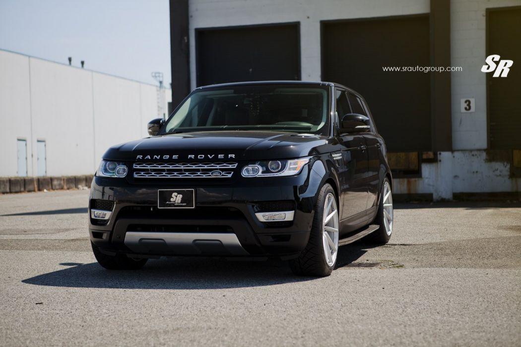 Range Rover sport black vossen wheels tuning cars wallpaper
