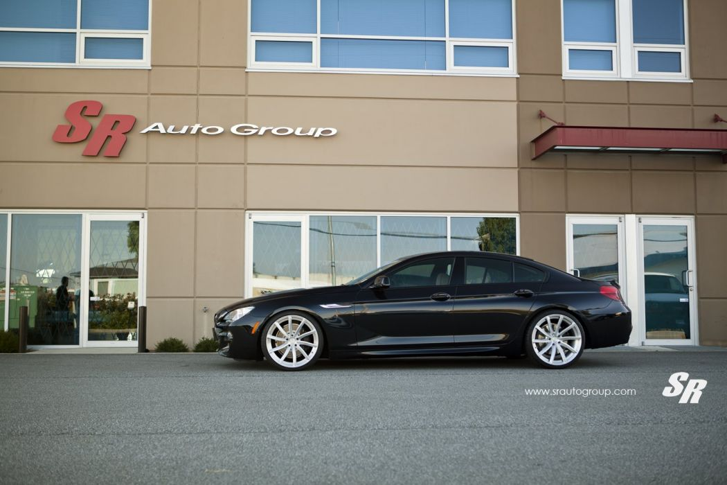 BMW 650i Gran Coupe black pur wheels tuning cars wallpaper