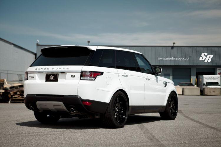 range rover sport white pur wheels tuning cars wallpaper