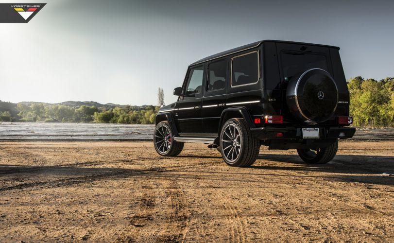 Vorsteiner mercedes G63 AMG black wheels cars tuning wallpaper