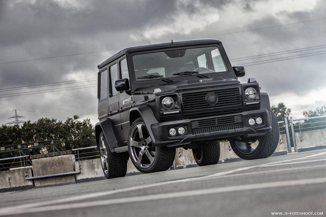 Prior Design G-Wagon black pur wheels cars tuning wallpaper