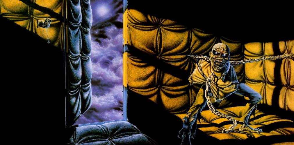 IRON MAIDEN heavy metal power artwork dark evil eddie skulll wallpaper